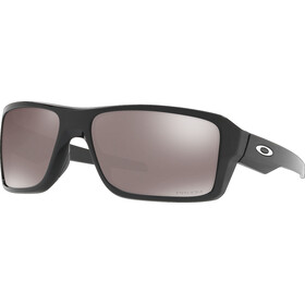 Oakley Double Edge Brille, polished black/prizm black polarized